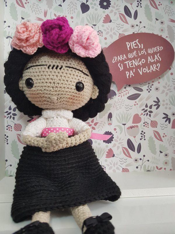 Frida Kahlo Amigurumi Crochetos